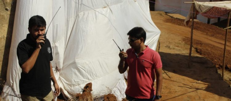 Kolhapur Camp, provide basic medical and healthcare facilities, VHF/UHF radio, Hams, coordination, Kolhapur, ARCAD