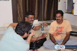 Workshops, antenna making, Morse code, Ham, technical, soldering, Mumbai, ARCAD